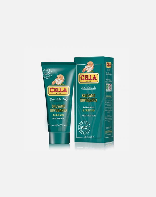 Cella Milano Extra Extra Bio Balsamo Dopobarba All'aloe Vera 100 Ml