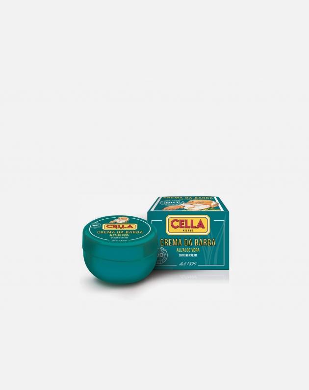 Cella Milano Extra Extra Bio Crema Da Barba In Ciotola All'aloe Vera 150 Ml