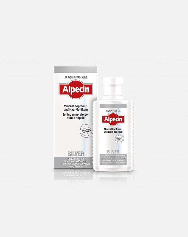 Alpecin Silver Tonico Minerale Anti-giallo 200 Ml