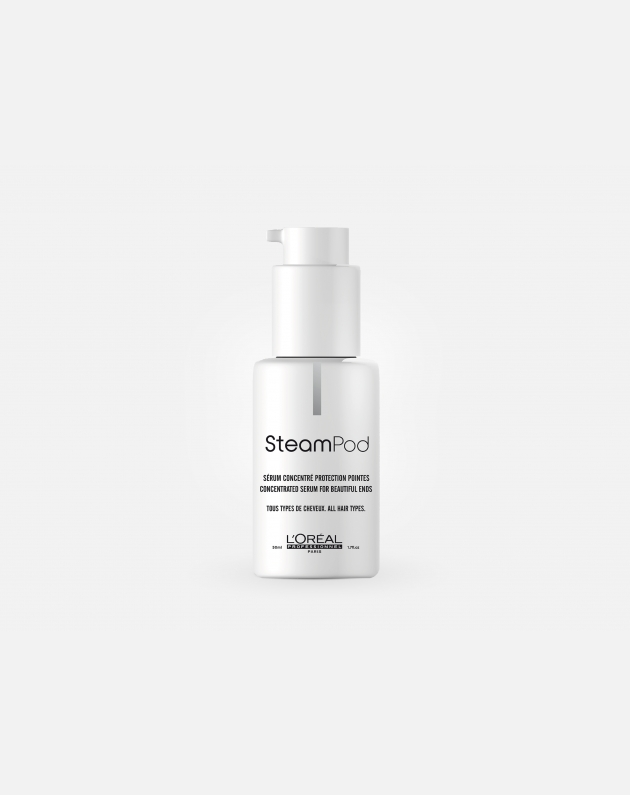 L'oreal Professionnel Steampod Concentrated Serum For Beautiful Ends 50 Ml