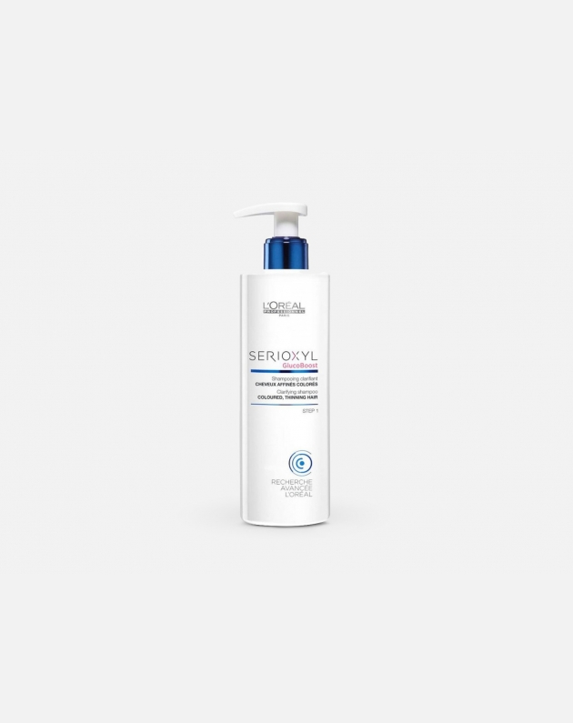 L'OREAL PROFESSIONNEL SERIOXYL CLARIFYING&DENSIFYNG SHAMPOO COLOURED THINNING HAIR
