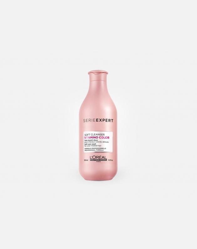 L'oreal Professionnel Serie Expert Vitamino Color Soft Cleanser Shampoo 300 Ml