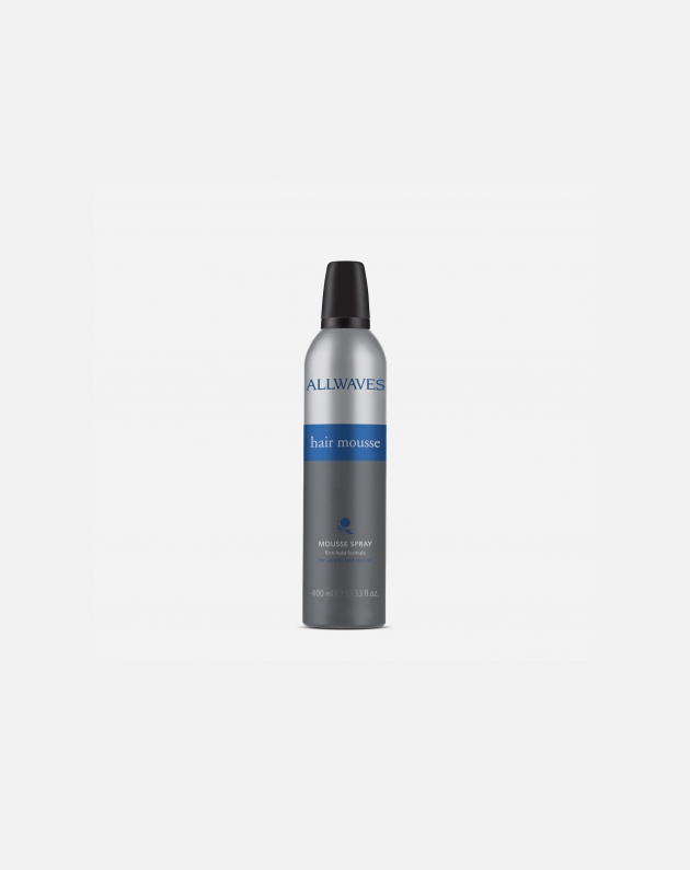 Allwaves Styling Hair Mousse Mousse Spray Strong Hold  400 Ml