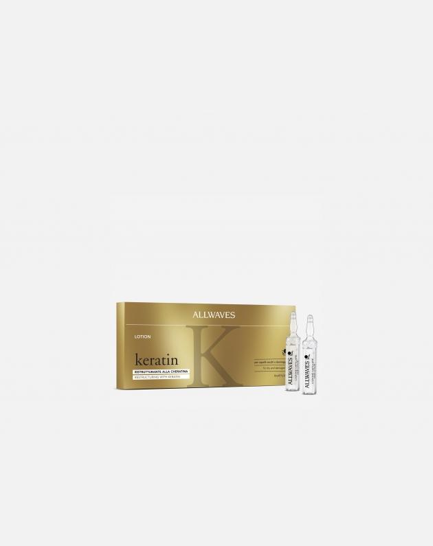 Allwaves Treatment Keratin Lozione Ristrutturante (scatola 12 Pz.)  10 Ml