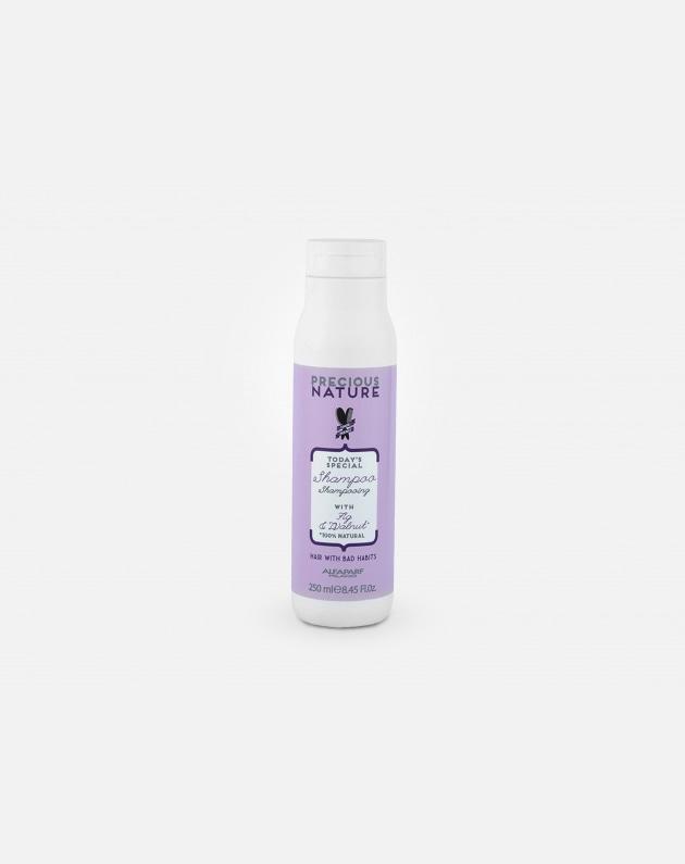 Alfaparf Precious Nature Capelli Dalle Cattivi Abitudini Shampoo With Fig & Walnut For Hair With Bad Habits 250 Ml