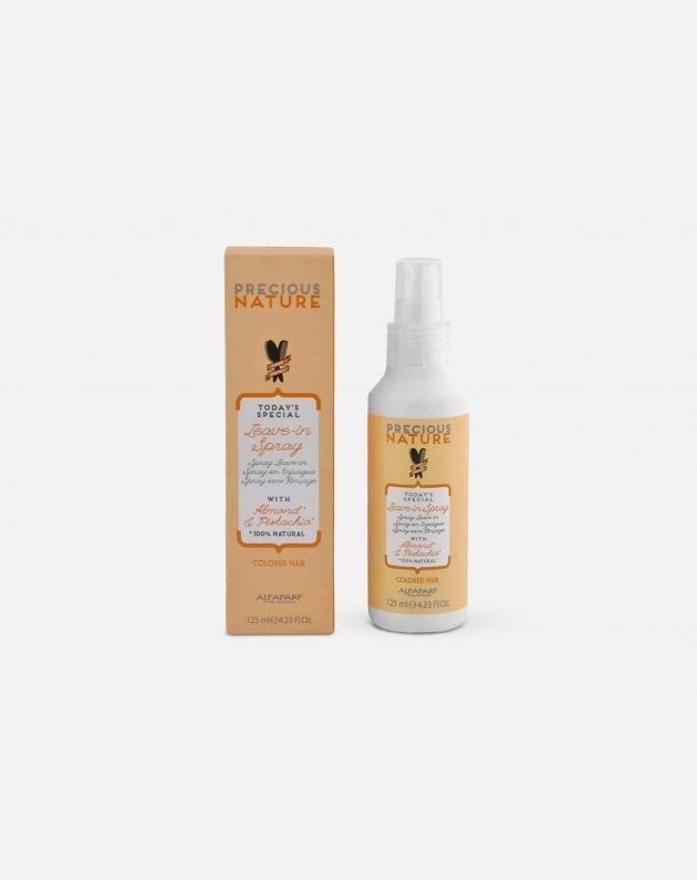 Alfaparf Precious Nature Capelli Colorati Spray Leave-in With Almond & Pistachio For Colored Hair 125 Ml