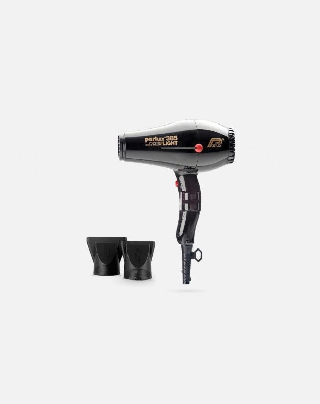 Parlux 385 Power Light Phon Ionic & Ceramic Nero
