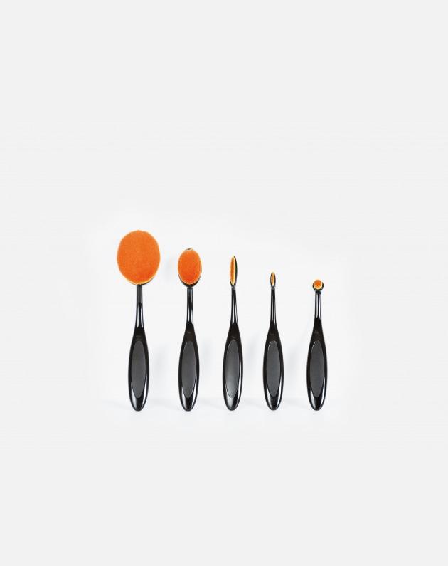 Bifull Pennelli Make Up Ovali 5 Modelli