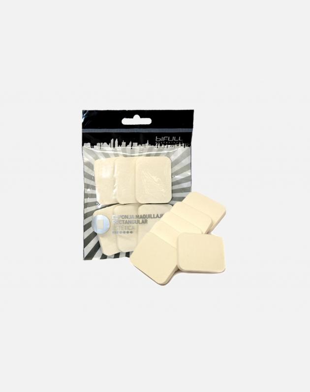 Bifull Set Spugne Trucco Rettangolari Confezione 6pz 03
