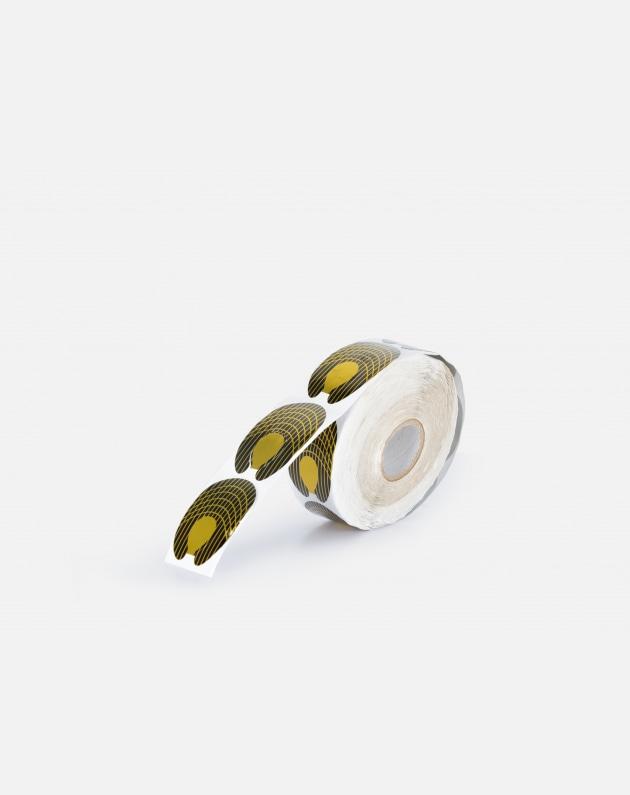 Bifull Forme Adesive Per Ricostruzione Forma C Rotolo 500pz