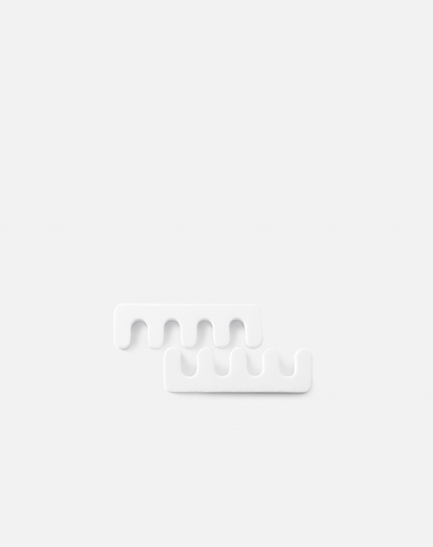 Bifull Separatore Dita Per Pedicure Confezione 2pz Bianco