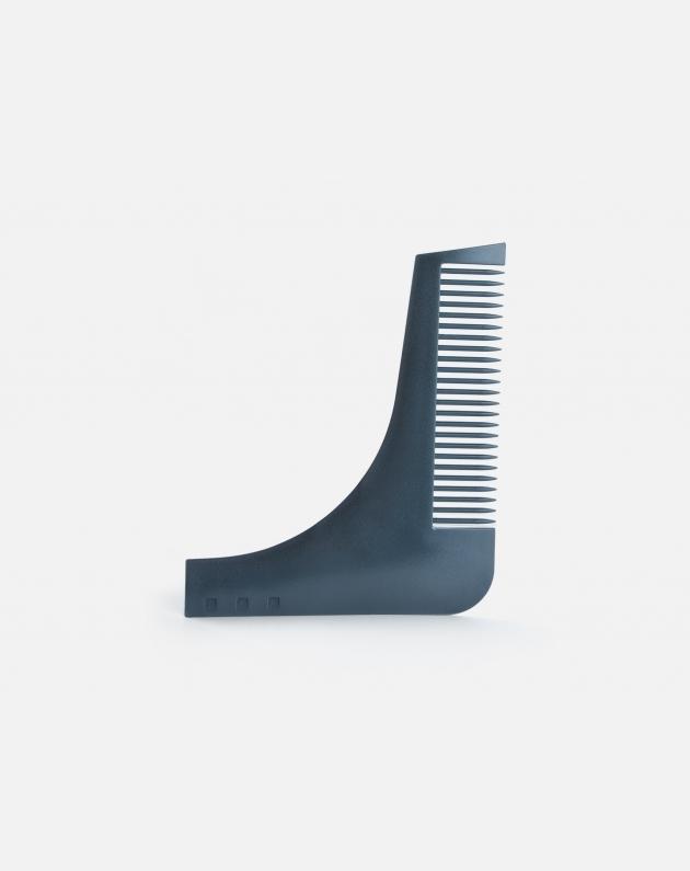 Bifull Pettine Guida Per Barba In Plastica Roxe Guide Nero