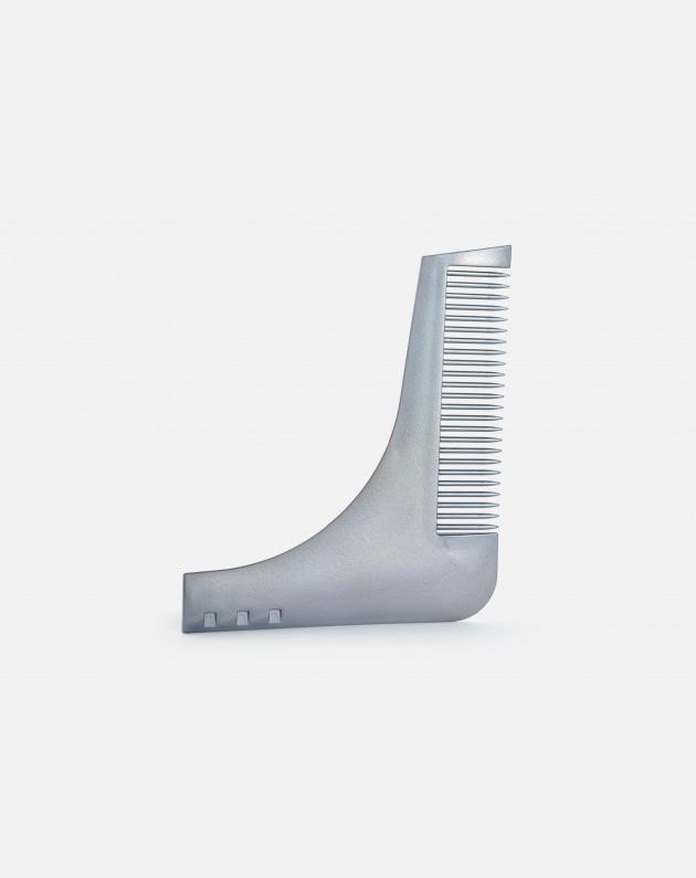 Bifull Pettine Guida Per Barba Grigio In Plastica Roxe Guide Grigio
