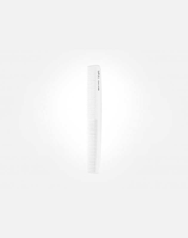 Bifull Pettine Ceramica Taglio 05 Bianco