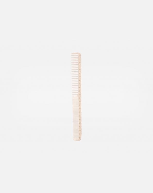 Bifull Pettine Centimetrato Sfumatura Dente Doppio 07 Bianco 24,5 Cm