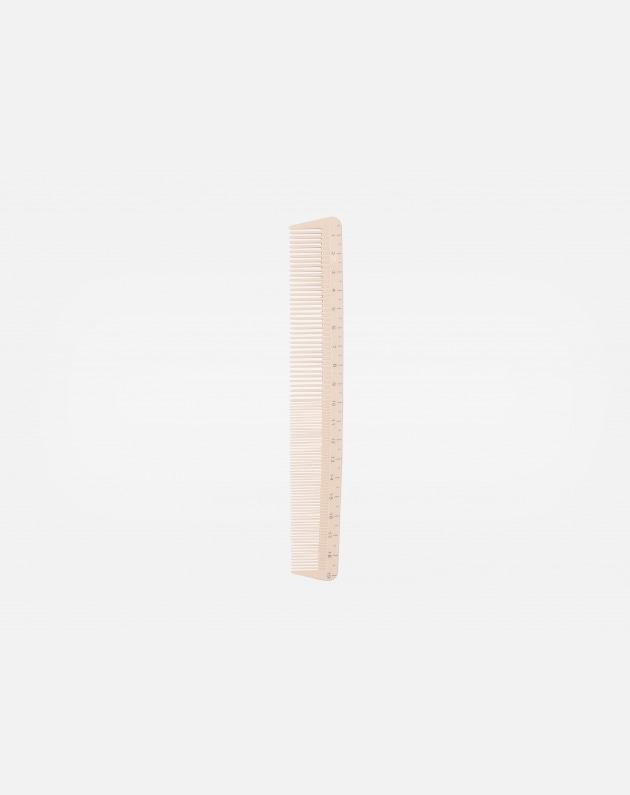 Bifull Pettine Centimetrato Taglio 10 Bianco 19 Cm