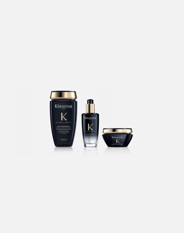Kit Kérastase CHRONOLOGISTE shampoo+maschera+olio