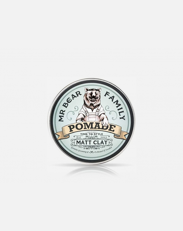 Mr Bear Family   Pomade Original - Matt Clay 100 Ml