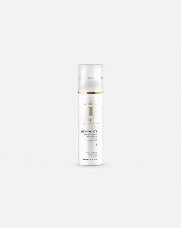 Medavita Idol Texture Strong Fit - Strong Firming Hair Mousse 200 Ml