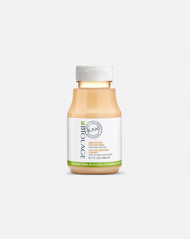 Biolage R.a.w. Styling Smooth Milk With Honey And Oat 200 Ml