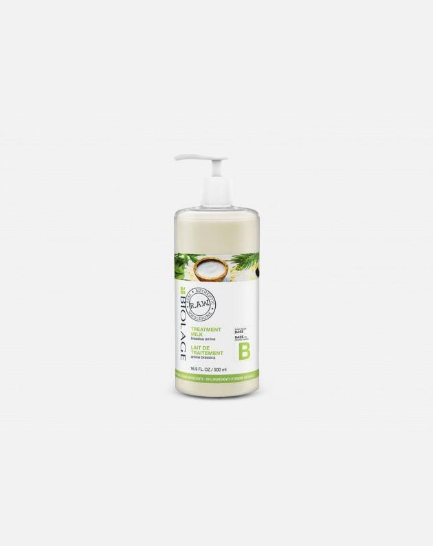 Biolage R.a.w. Fresh Recipes Treatment Milk Base Brassica Amine 550 Ml