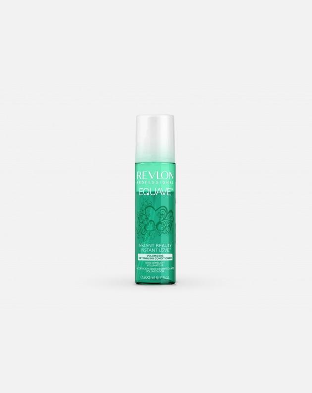 Revlon Professional Equave Instant Beauty Volumizing Detangling Conditioner Verde 200 Ml