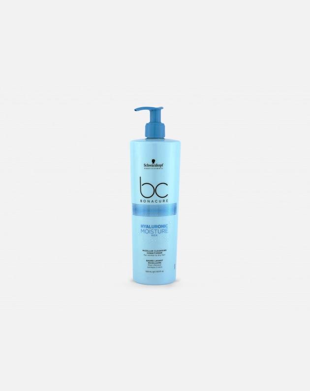 Schwarzkopf Professional Bonacure Hyaluronic Moisture Kick Cleansing Conditioner  500 Ml