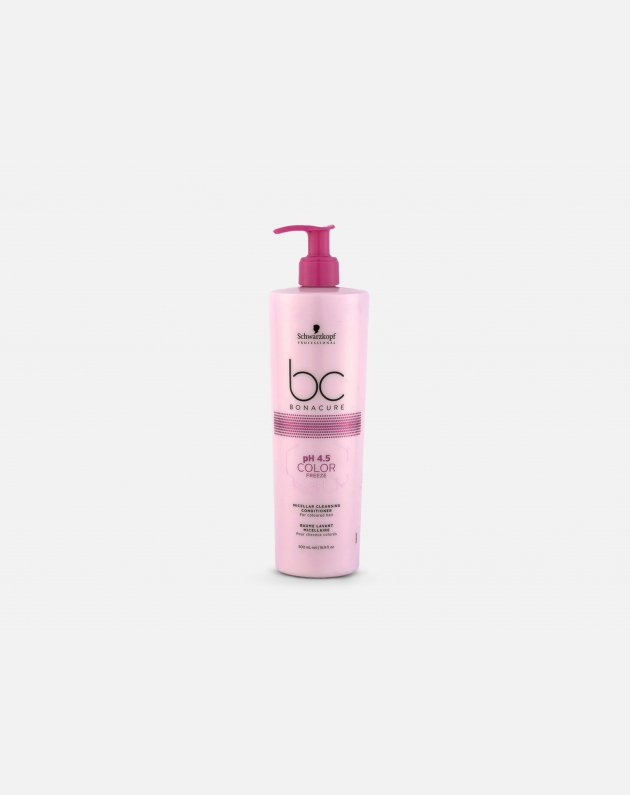 Schwarzkopf Professional Bonacure Color Freeze Ph4,5 Micellar Cleansing Conditioner  500 Ml