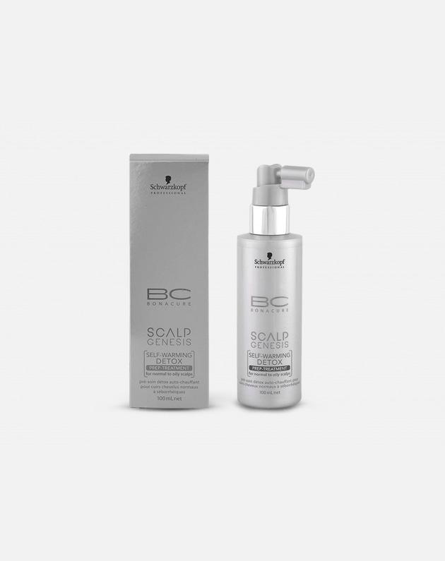 Schwarzkopf Professional Bonacure Scalp Genesis Self-warming Detox Prep-treatment  100 Ml