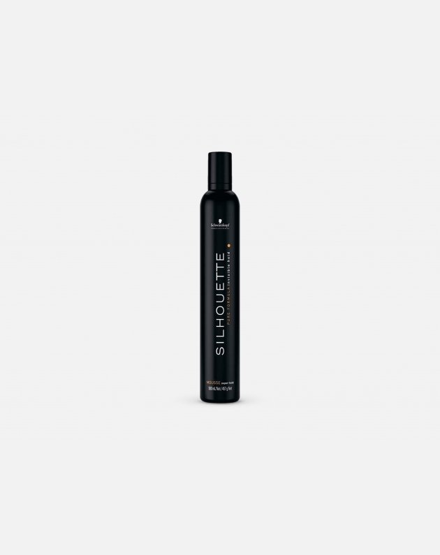 SCHWARZKOPF PROFESSIONAL SILHOUETTE MOUSSE SUPER HOLD